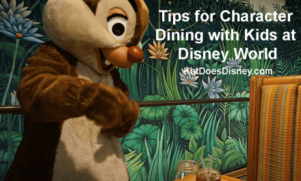 Tips for Character Dining with Kids in Disney World