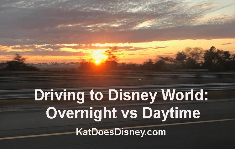 Driving to Disney World: Overnight vs Daytime
