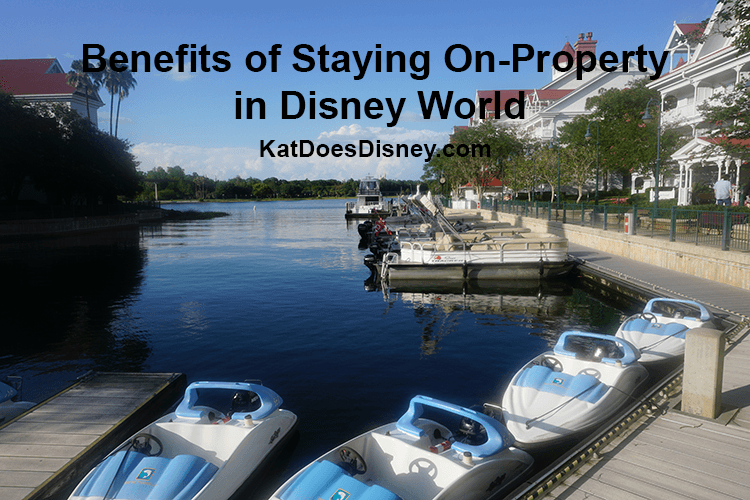 Benefits of Staying On-Property at Disney World