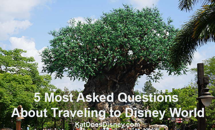 5 Most Asked Questions about Traveling to Disney World