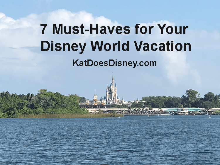 7 Must-Haves for Your Disney World Vacation