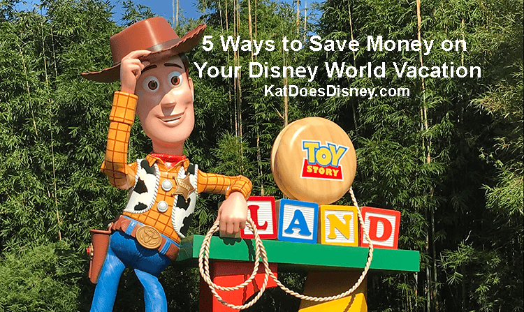 5 Ways to Save Money on Your Disney World Vacation