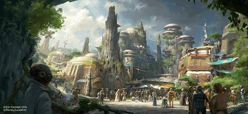 Anticipating Star Wars Galaxy's Edge at Disney World and Disneyland