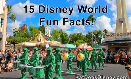 15 Disney World Fun Facts