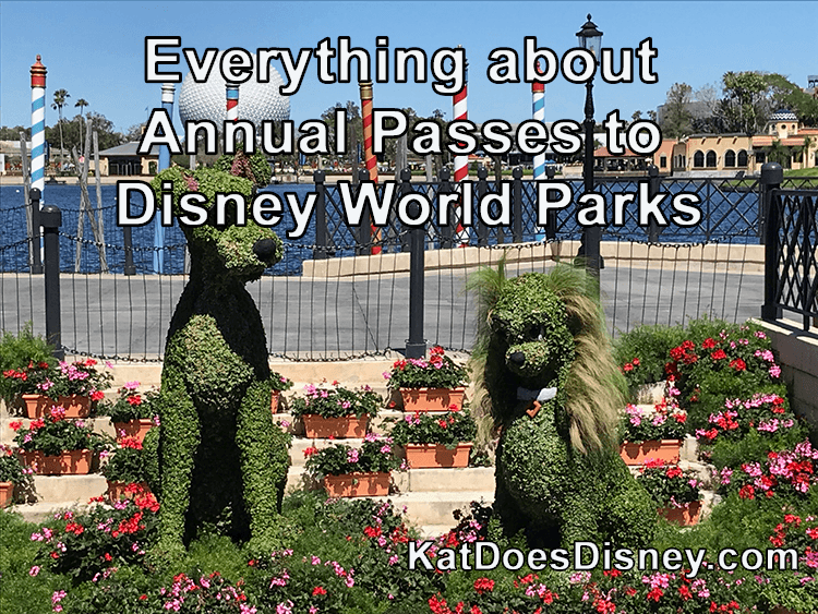 Everything about Annual Passes to Disney World Parks
