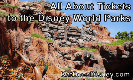All About Tickets to the Disney World Parks