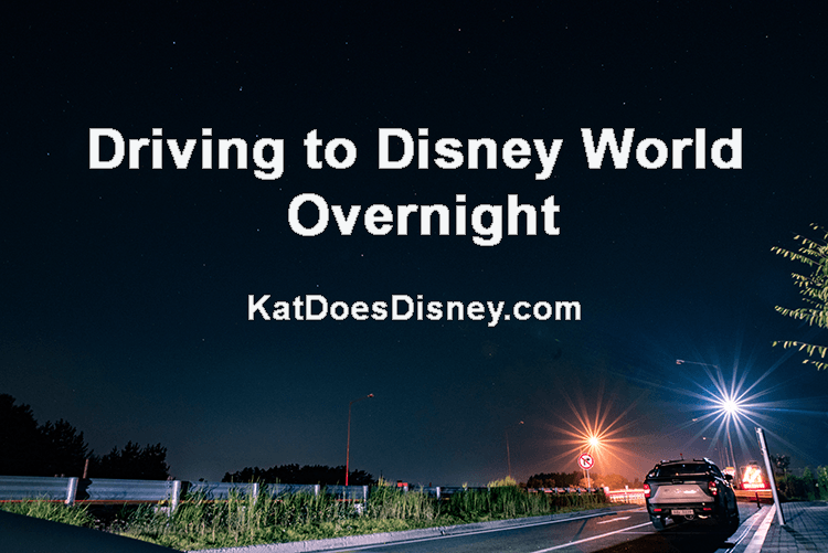 Driving to Disney World Overnight