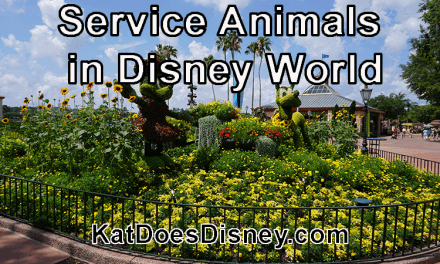 Service Animals in Disney World