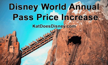 Disney World Annual Pass Price Increase