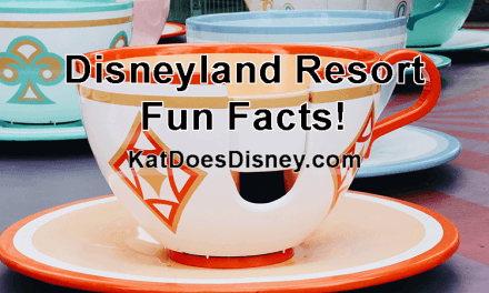 Disneyland Resort Fun Facts