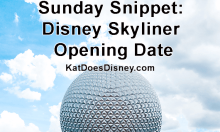 Sunday Snippet: Disney Skyliner Opening Date