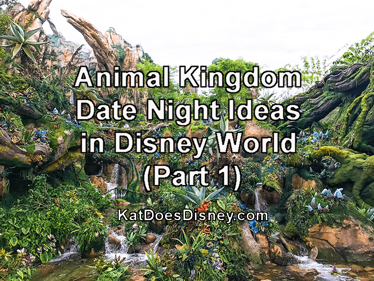 Animal Kingdom Date Night Ideas in Disney World (Part 1)