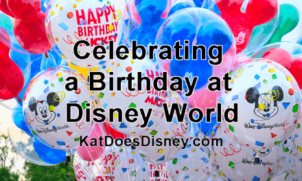 Celebrating a Birthday at Disney World