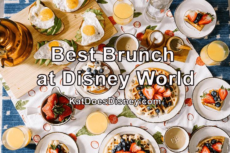 Best Brunch at Disney World