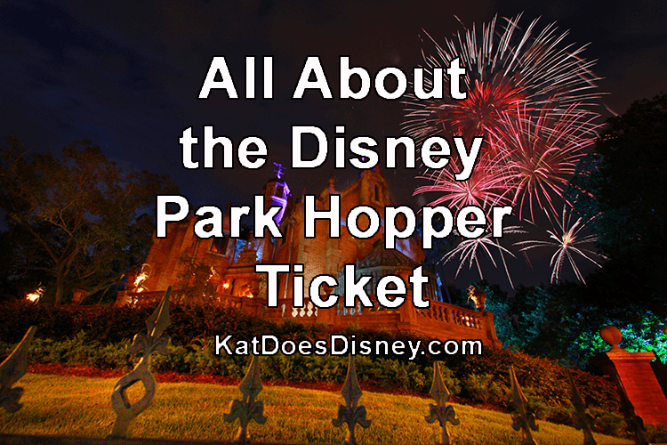 All About the Disney Park Hopper Ticket