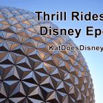 Thrill Rides at Disney Epcot
