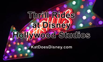 Thrill Rides at Disney Hollywood Studios
