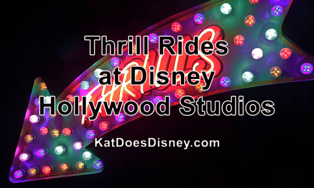 Thrill Rides at Disney Hollywood Studios