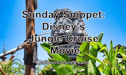 Sunday Snippet: Disney's Jungle Cruise Movie