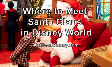 Where to Meet Santa Claus in Disney World