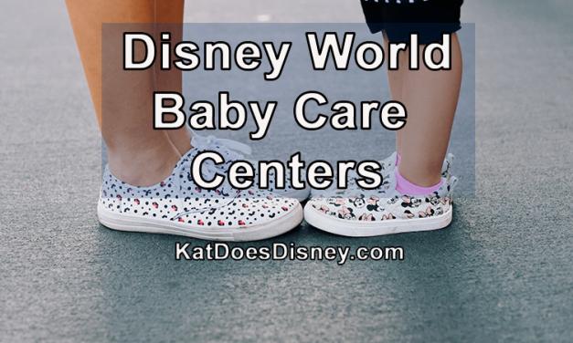 Disney World Baby Care Centers
