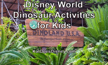 Disney World Dinosaur Activities for Kids