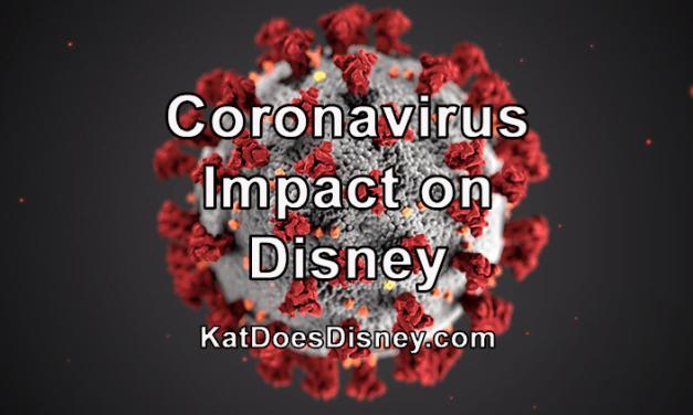 Coronavirus Impact on Disney