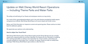 Coronavirus Disney World