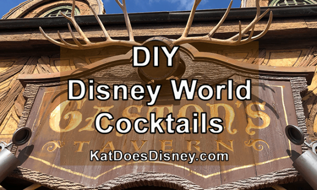 DIY Disney World Cocktails