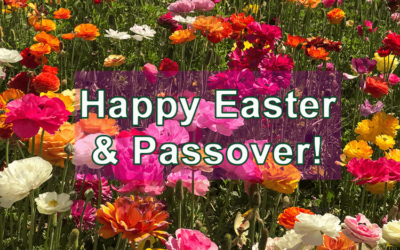 Happy Easter and Passover!