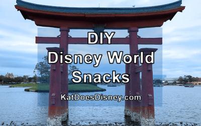 DIY Disney World Snacks