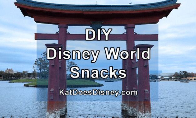 DIY Disney World Snacks
