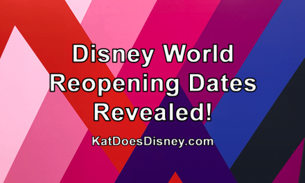 Disney World Reopening Dates Revealed!