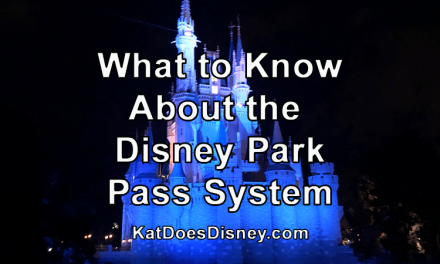 What to Know About the Disney Park Pass System