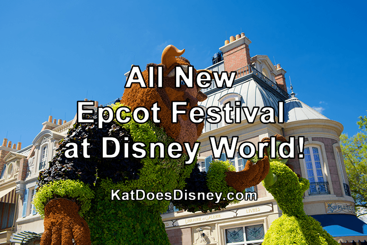 All New Epcot Festival at Disney World!