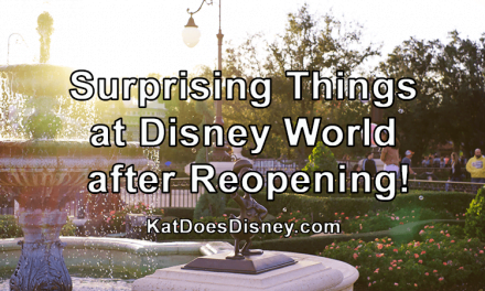 Surprising Things at Disney World after Reopening!