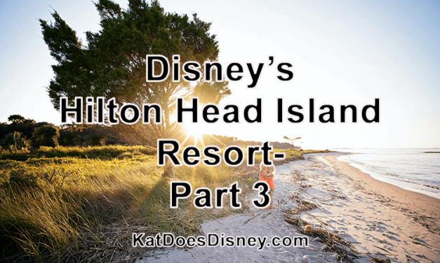 Disney's Hilton Head Island Resort- Part 3