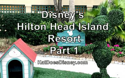 Disney's Hilton Head Island Resort- Part 1