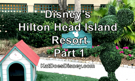 Disney's Hilton Head Island Resort- Part 1