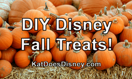 DIY Disney Fall Treats!