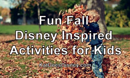 Fun Fall Disney Inspired Activities for Kids