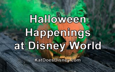 Halloween Happenings at Disney World