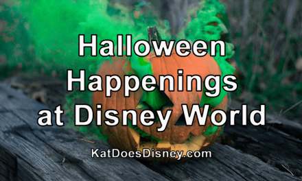 Halloween Happenings at Disney World