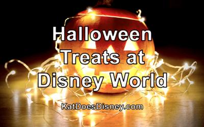 Halloween Treats at Disney World