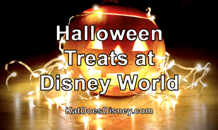 Halloween Treats at Disney World