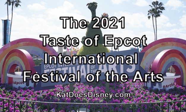 The 2021 Taste of Epcot International Festival of the Arts
