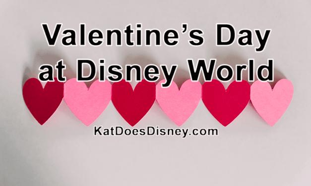 Valentine's Day at Disney World