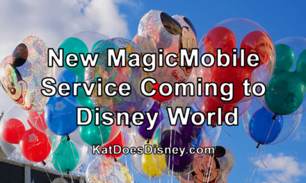 New MagicMobile Service Coming to Disney World