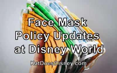 Face Mask Policy Updates at Disney World