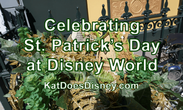 Celebrating St. Patrick's Day at Disney World
